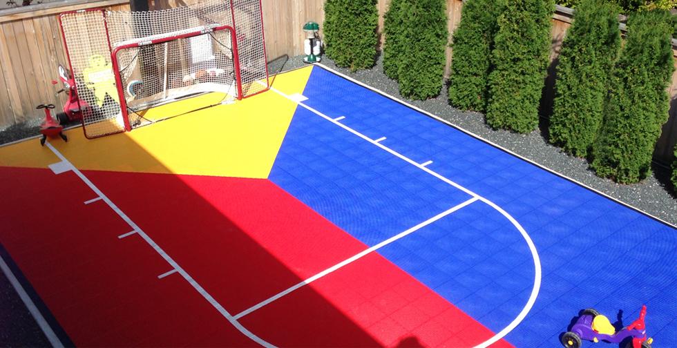 Sport Court 3 Seasons Landscaping Winnipeg Landscaping
